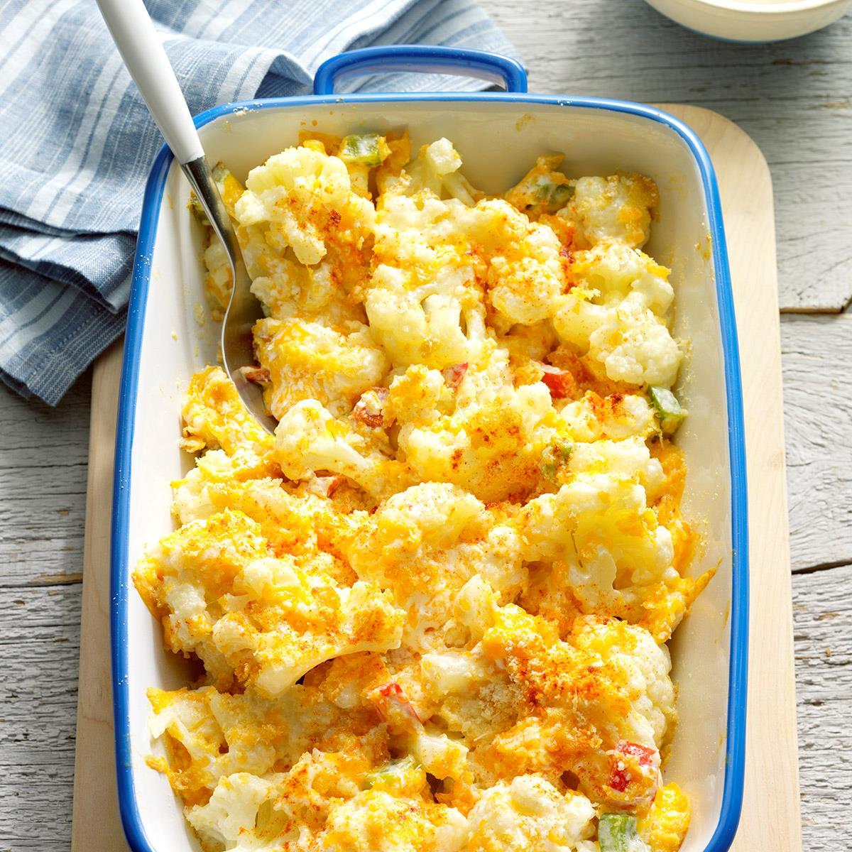 Napravite karfiol sa sirom