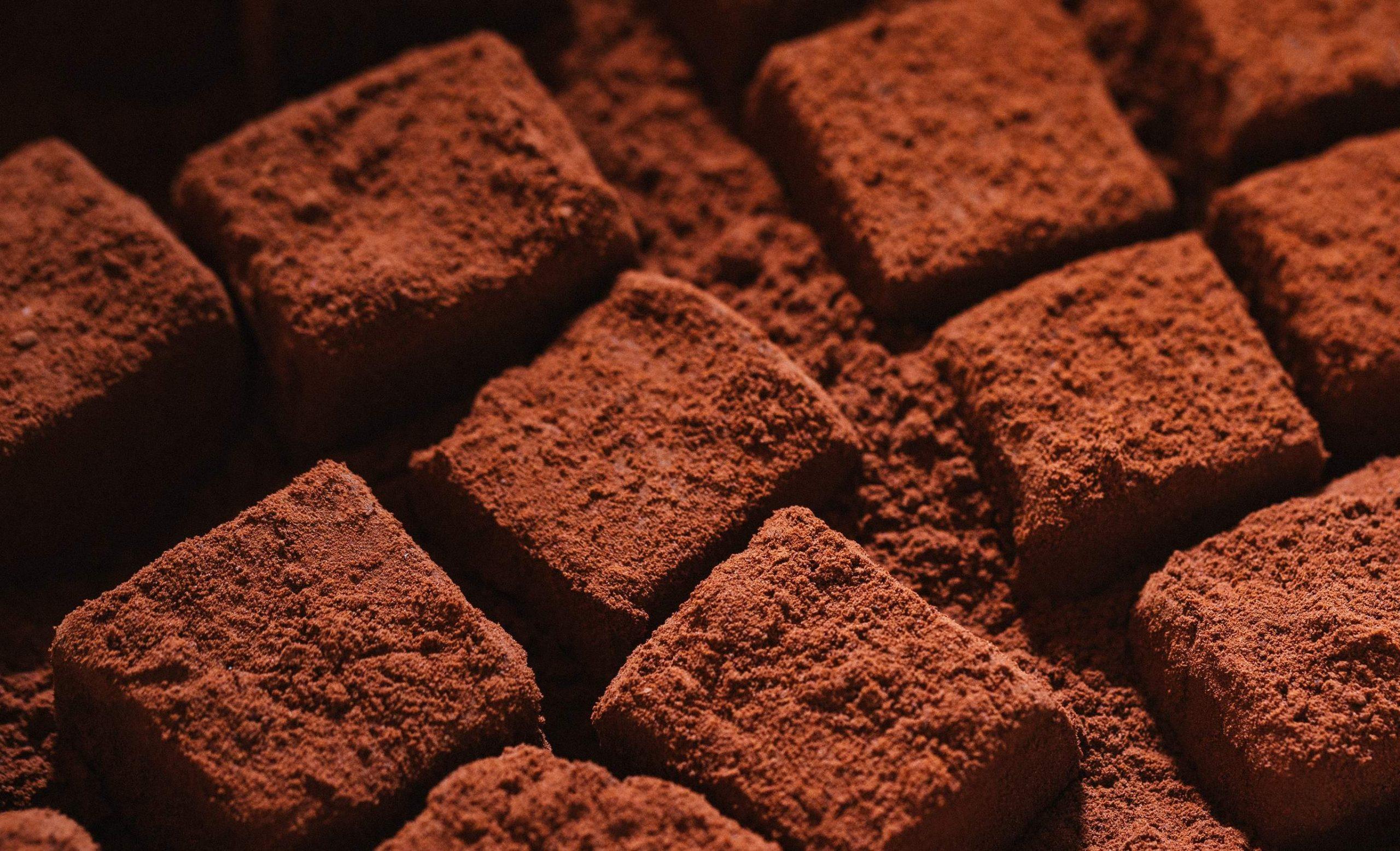 Ukusne čokoladne kockice