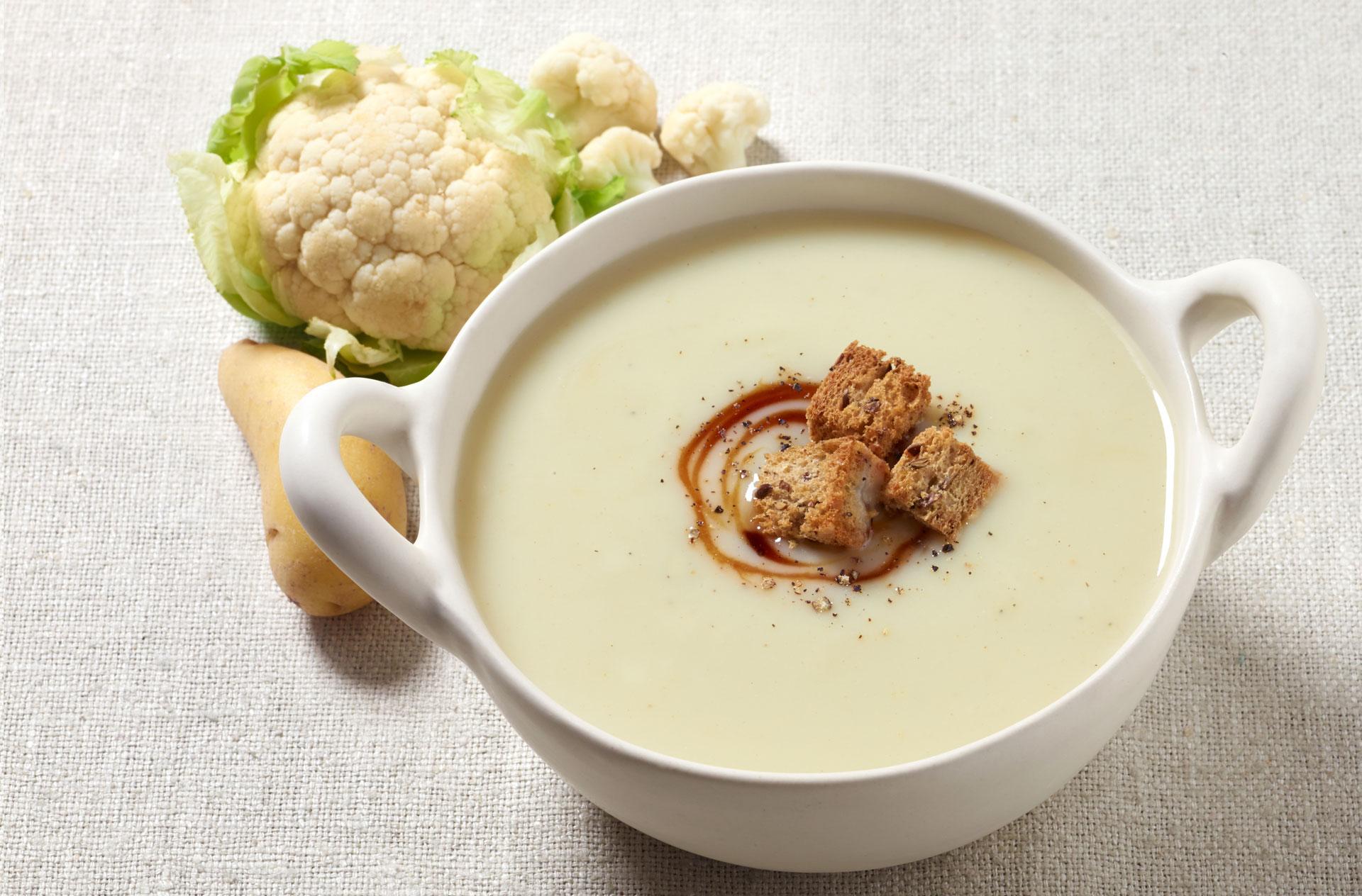 Uživajte u krem supi od karfiola