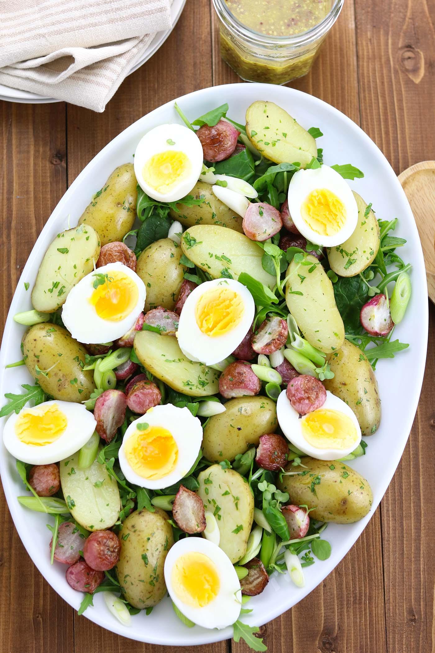 Napravite ukusnu salatu sa krompirom