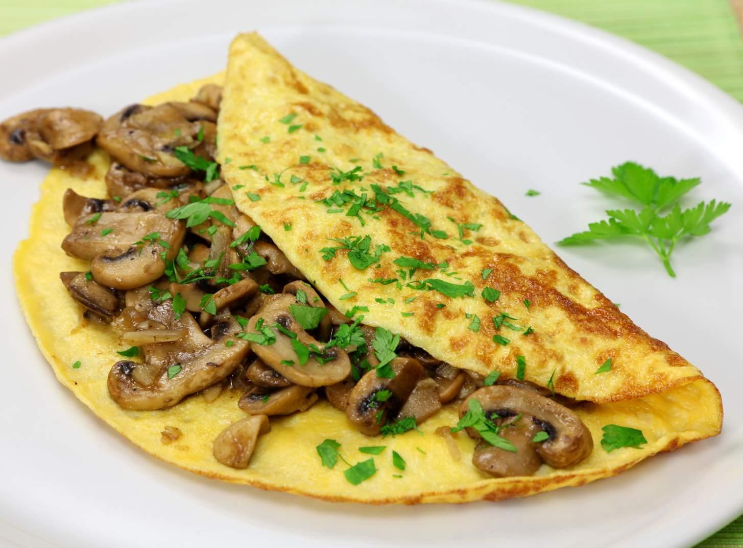 Neka vaš izbor ovog jutra bude omlet sa gljivama