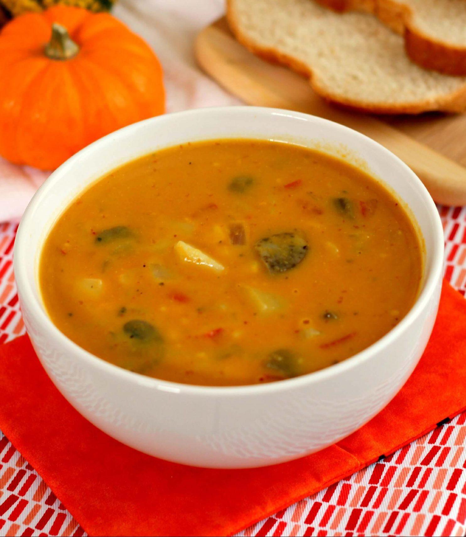 Za zimske dane idealna je supa s povrćem