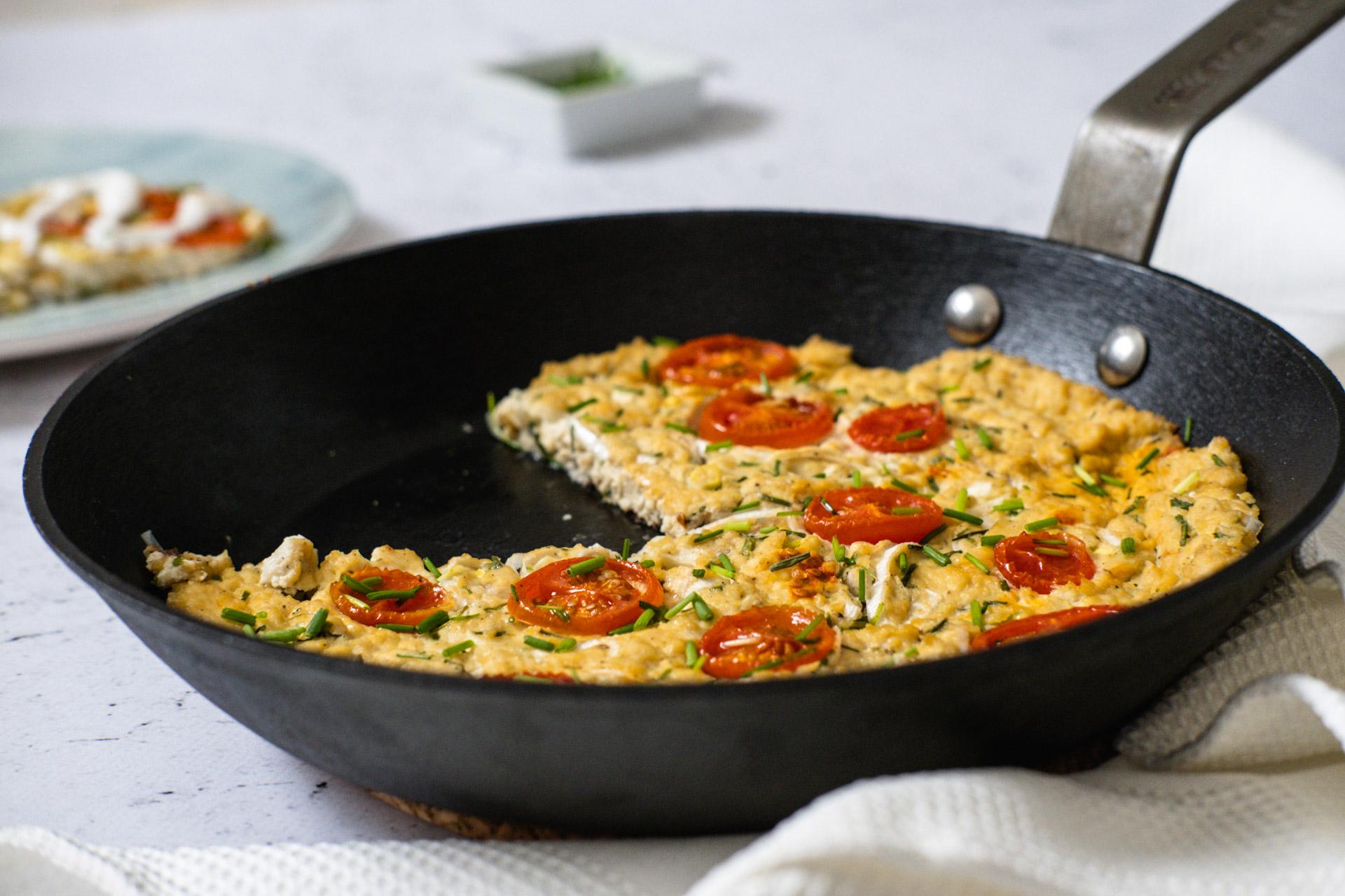 Lagani doručak: Veganski omlet