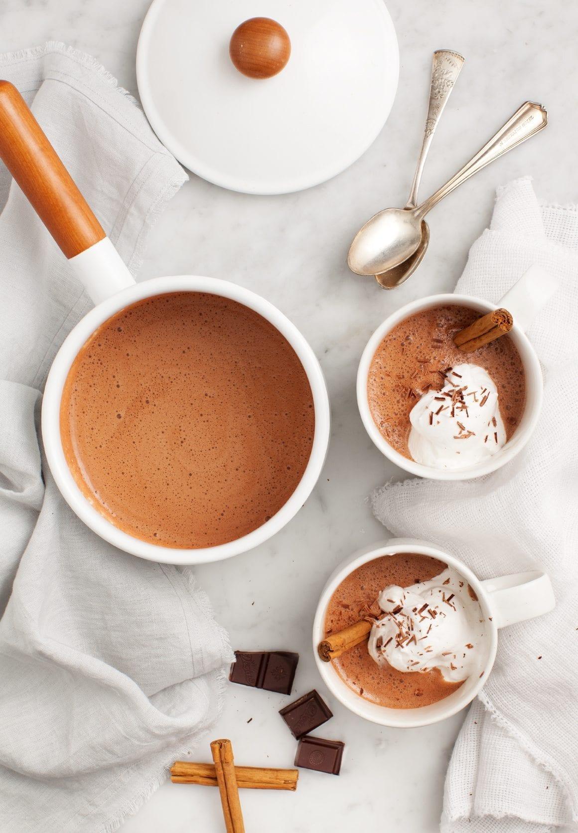 Ukusna čokolada sa cimetom i đumbirom