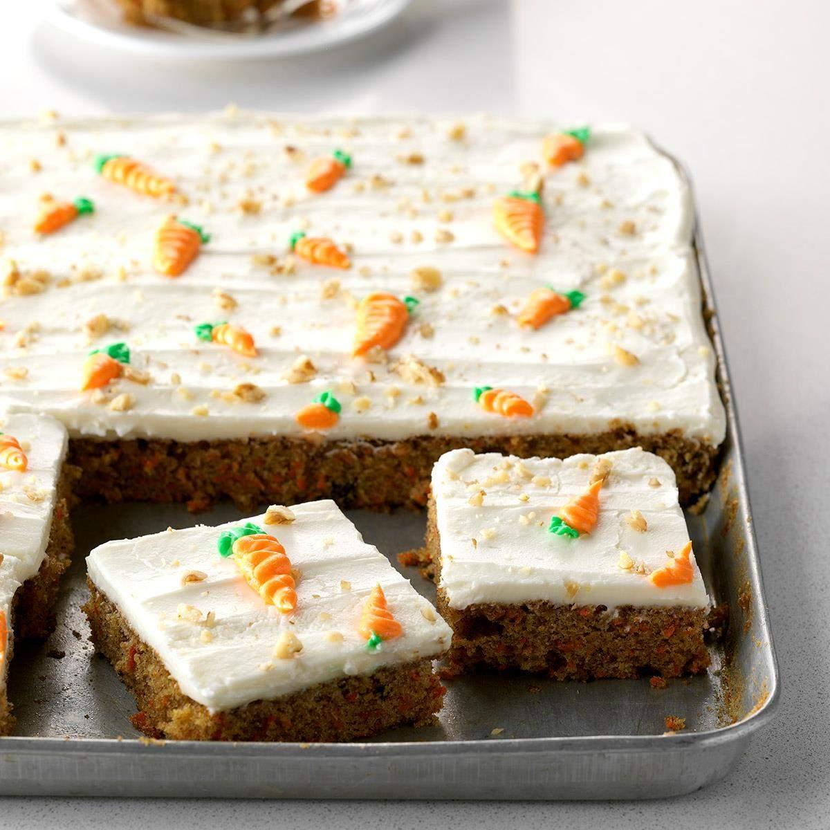 Ukusni kolač s mrkvom
