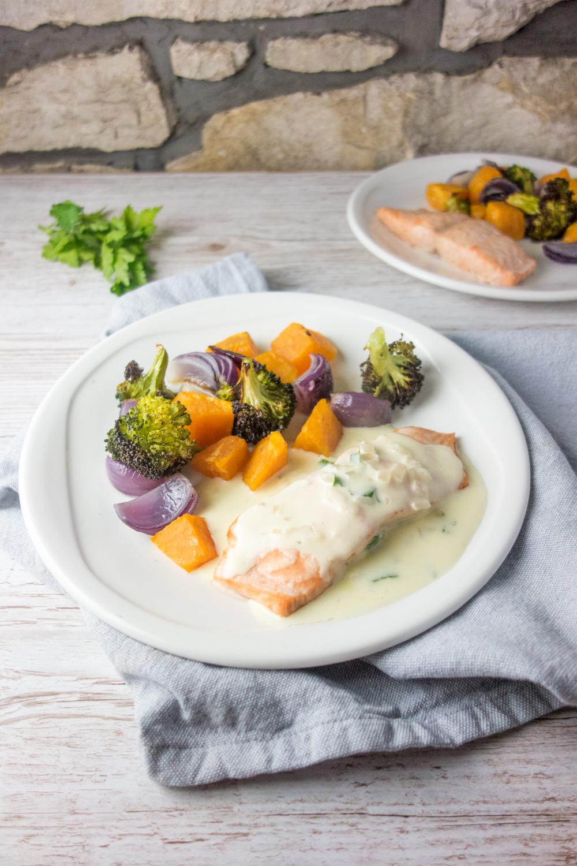 Pripremite za ručak: Losos u bijelom sosu