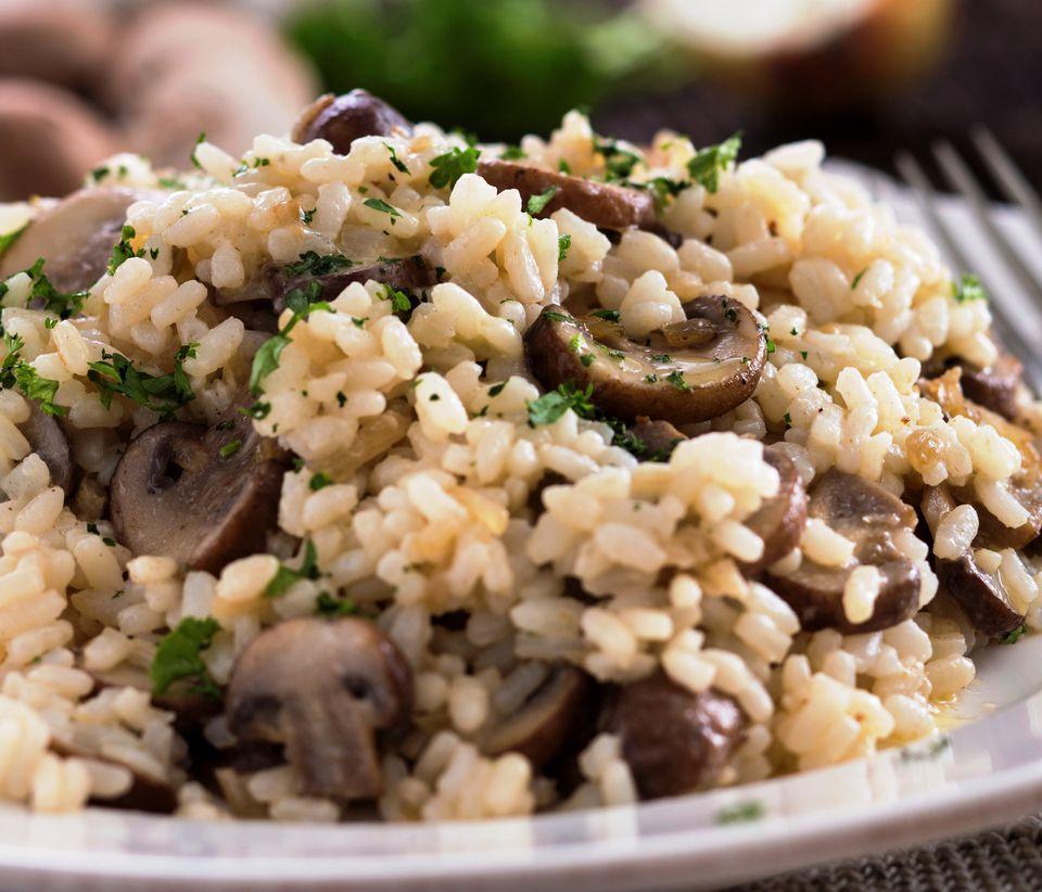 Šumski rižoto idealan obrok