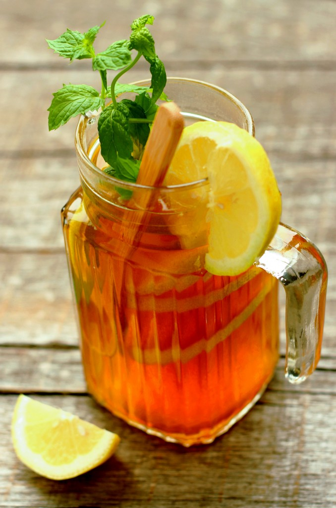 Idealno piće: Ledeni čaj od mente i limuna