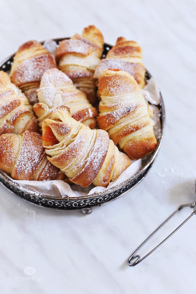 Kiflice sa džemom idealne za doručak