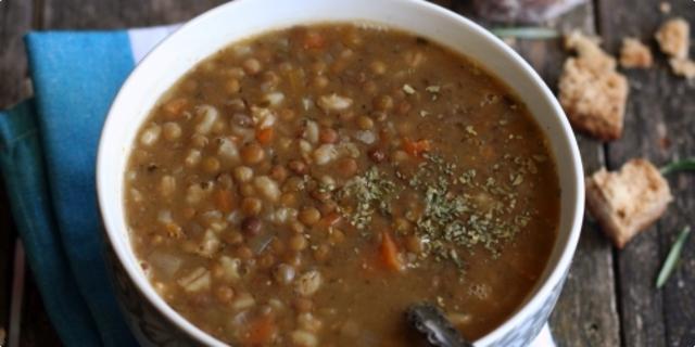 Naš prijedlog je supa od graha  i ječma