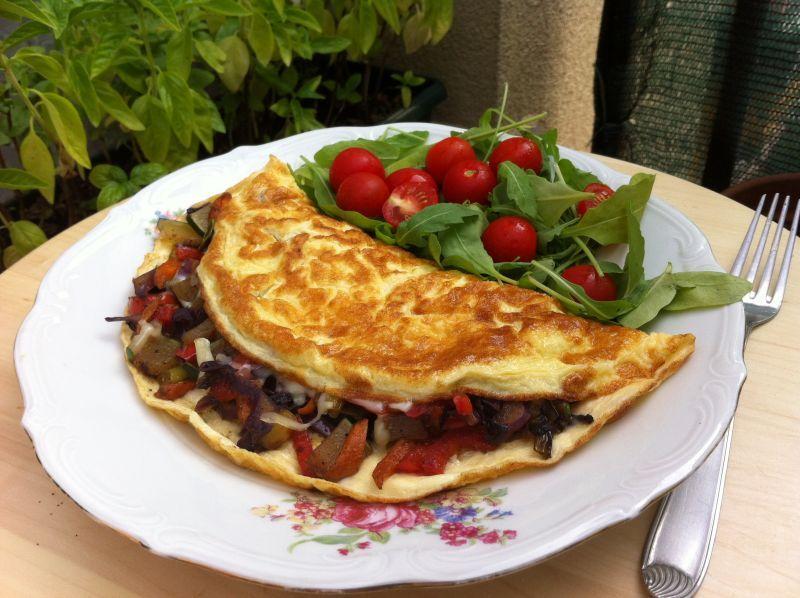 Za doručak omlet s povrćem