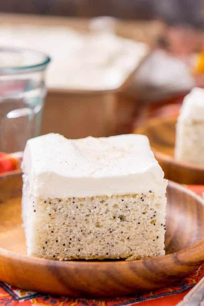 Brzi deserti: Bijeli kolač s makom