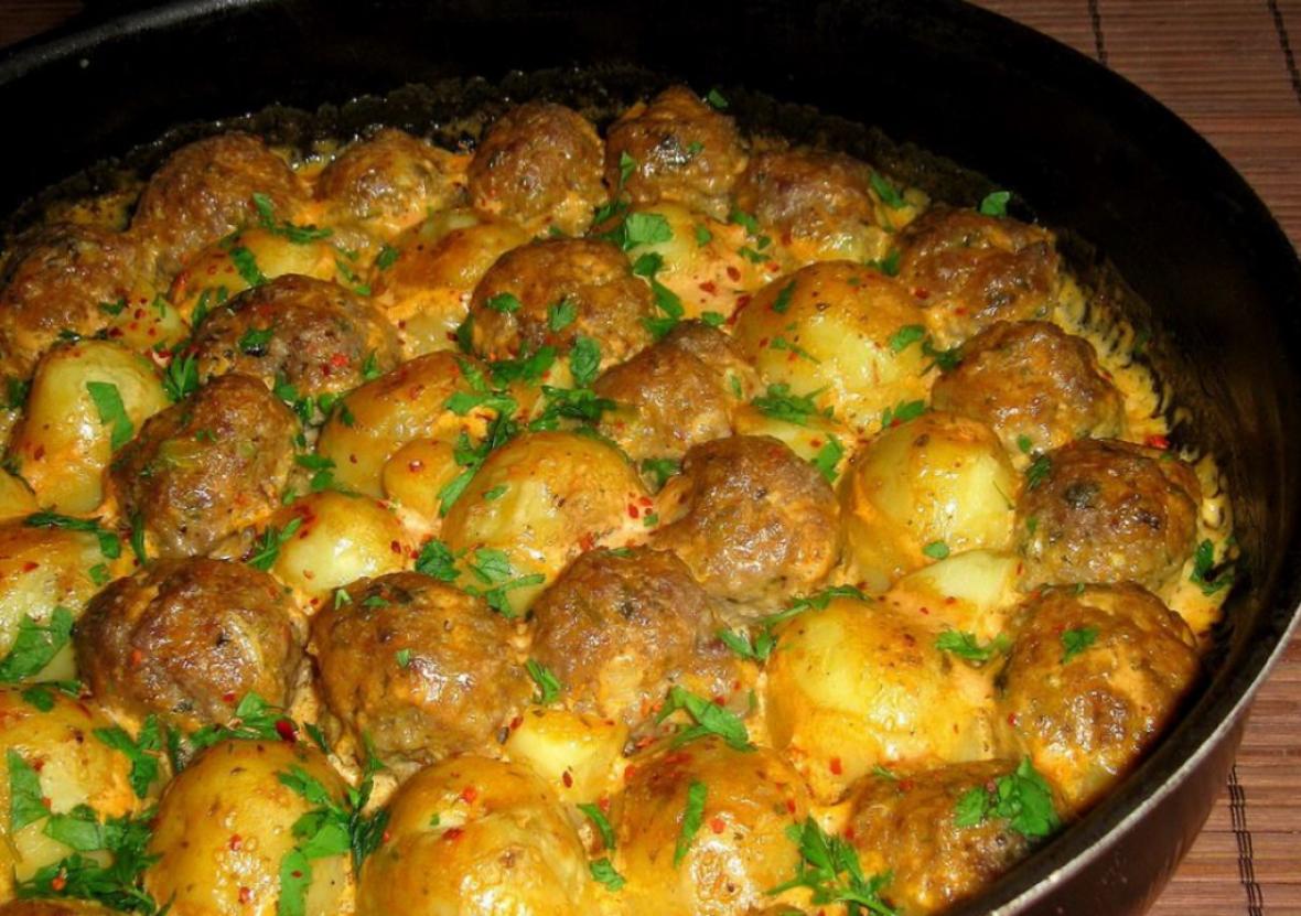 Jela s kurkumom: Ćufte od krompira