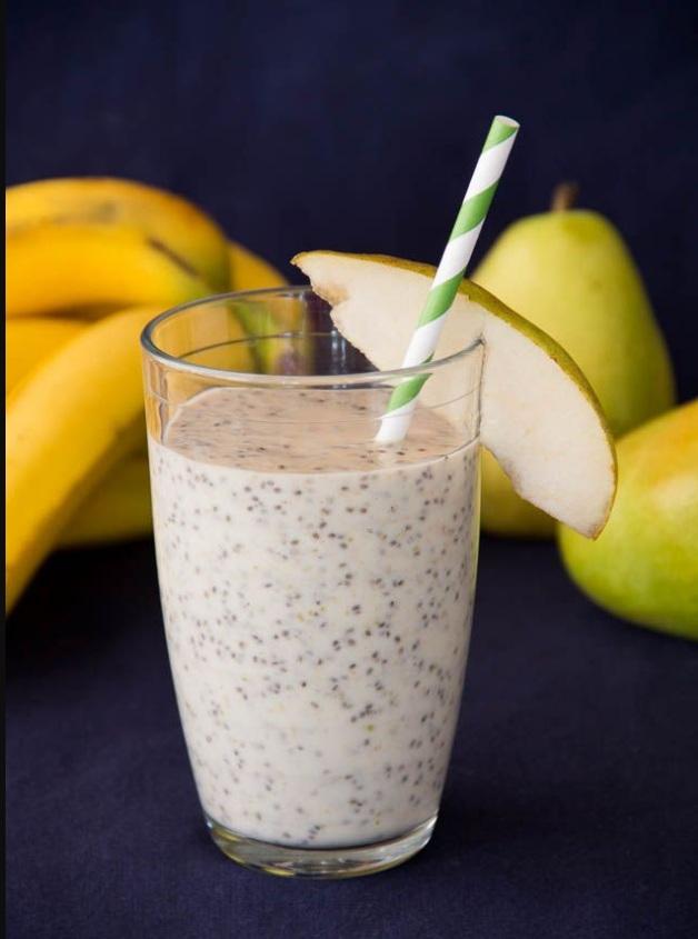 Ukusni frape od banana i krušaka