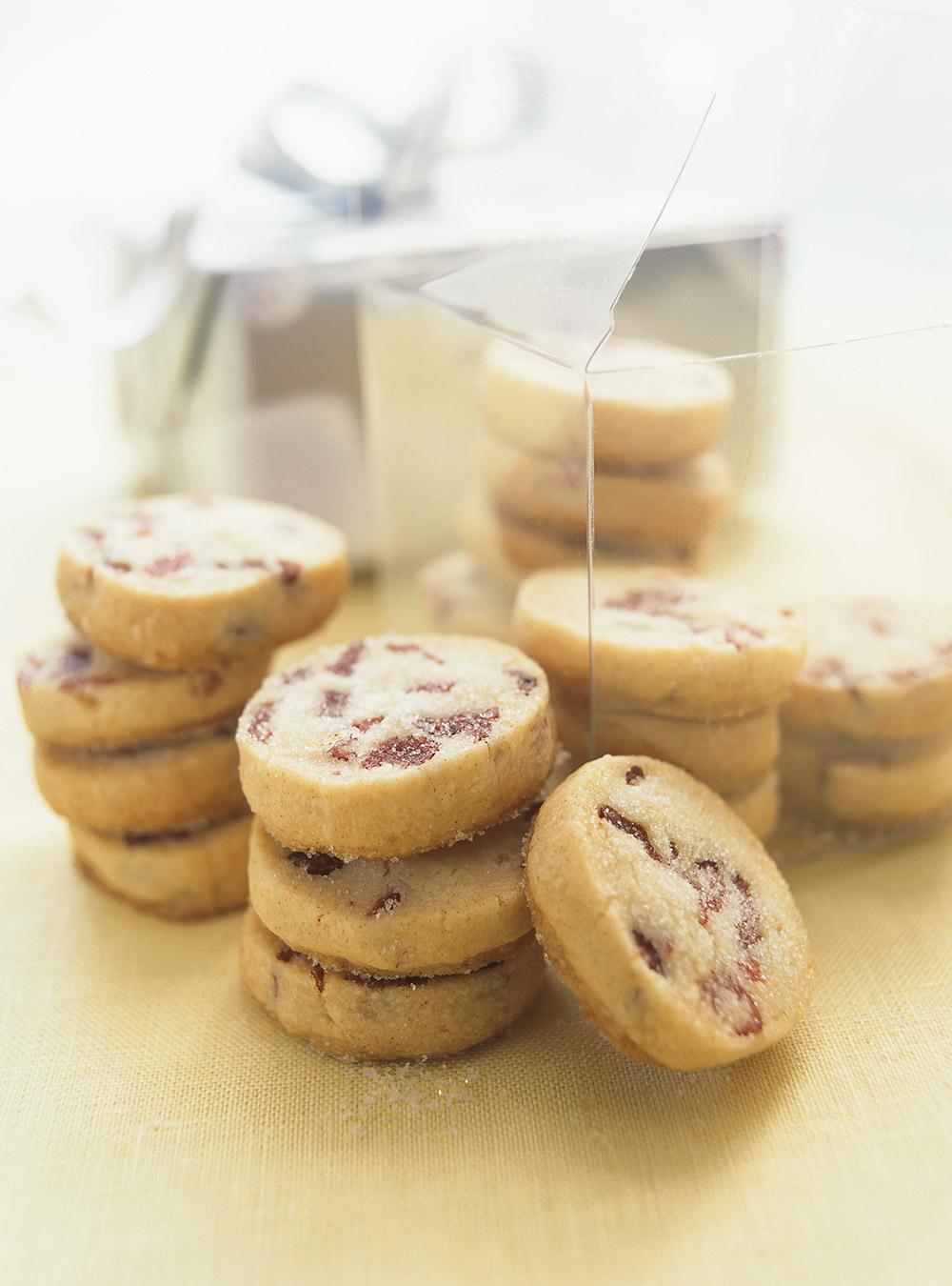 Ukusni keksi s brusnicama