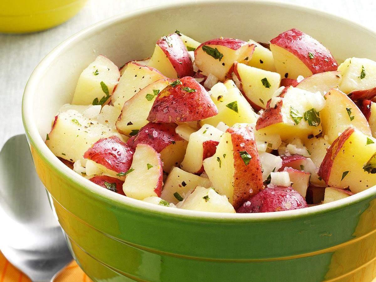 Ukusna salata od krompira s limunom