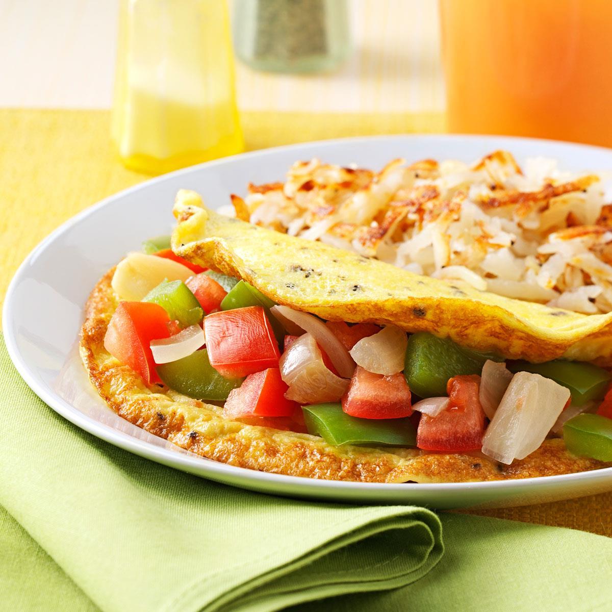 Ideje za doručak: Omlet s paprikom