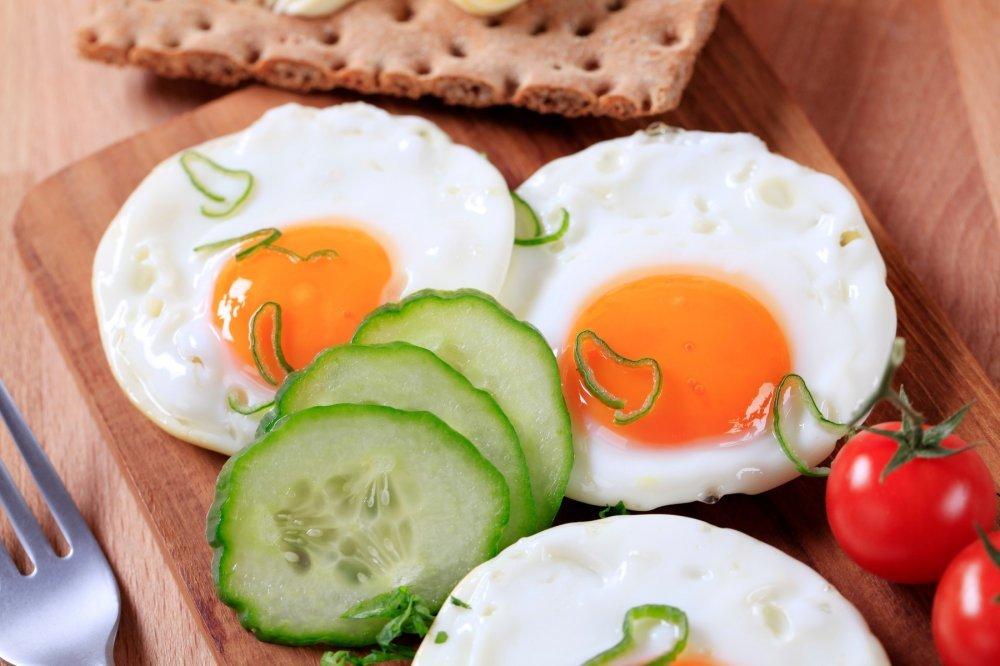 Proteinska salata sa jajima za doručak