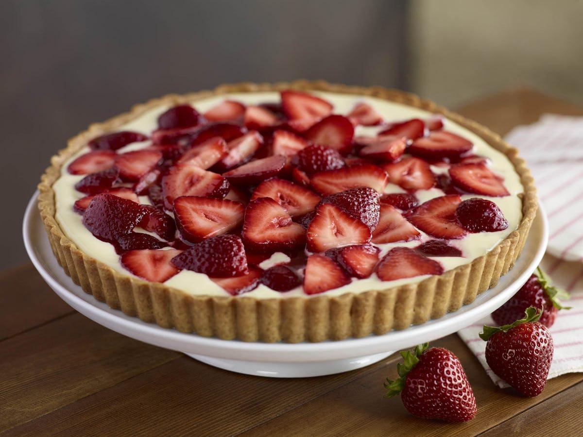 Tart sa svježim jagodama idealan desert