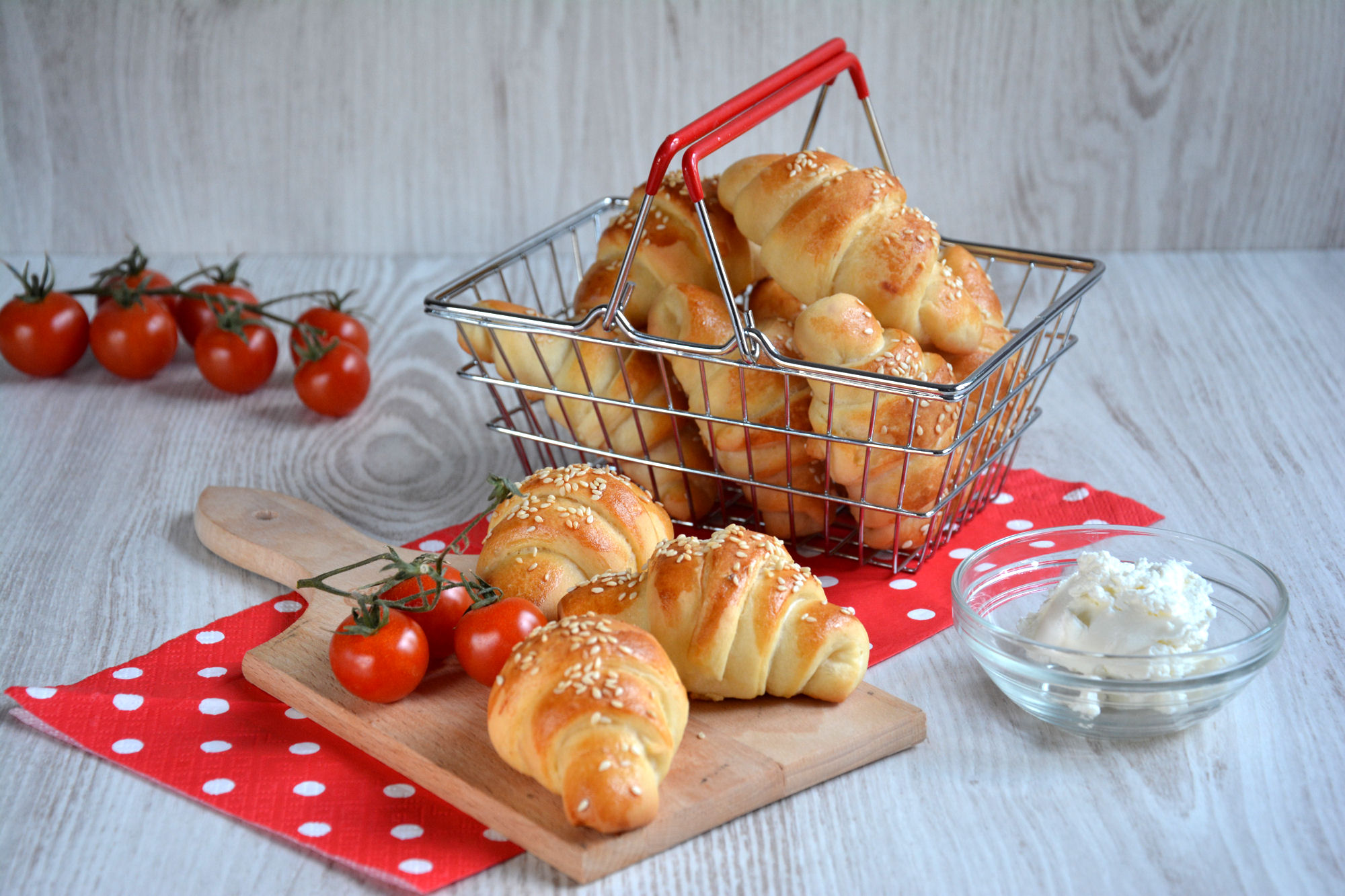 Kiflice sa pavlakom za doručak