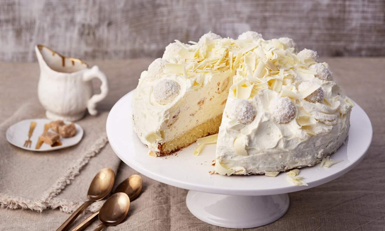 Rafaelo torta idealan desert