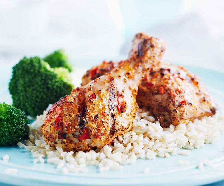 Zapečena piletina  sa rižom
