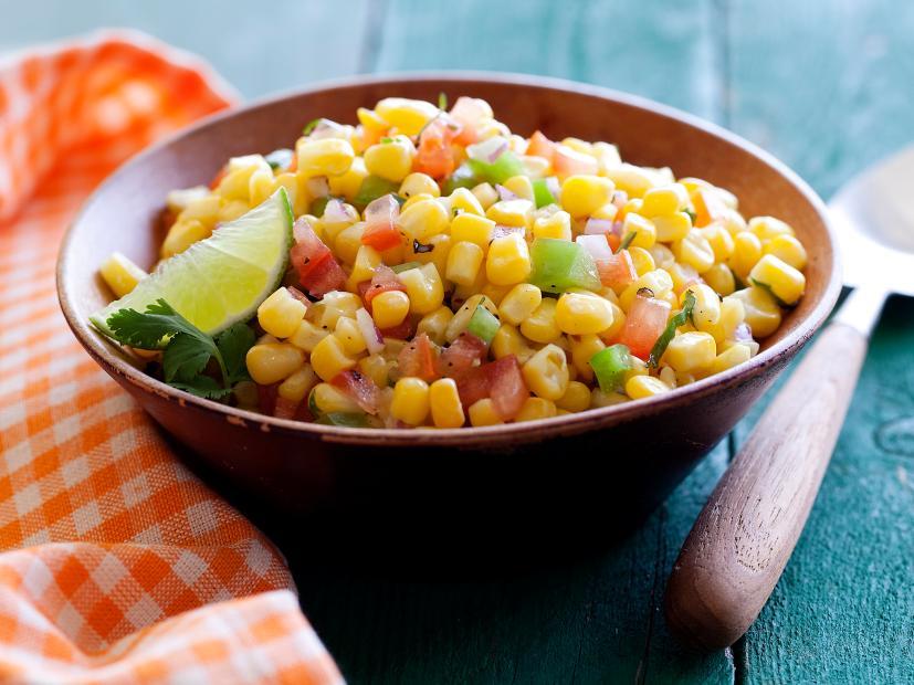 Napravite salatu s kukuruzom