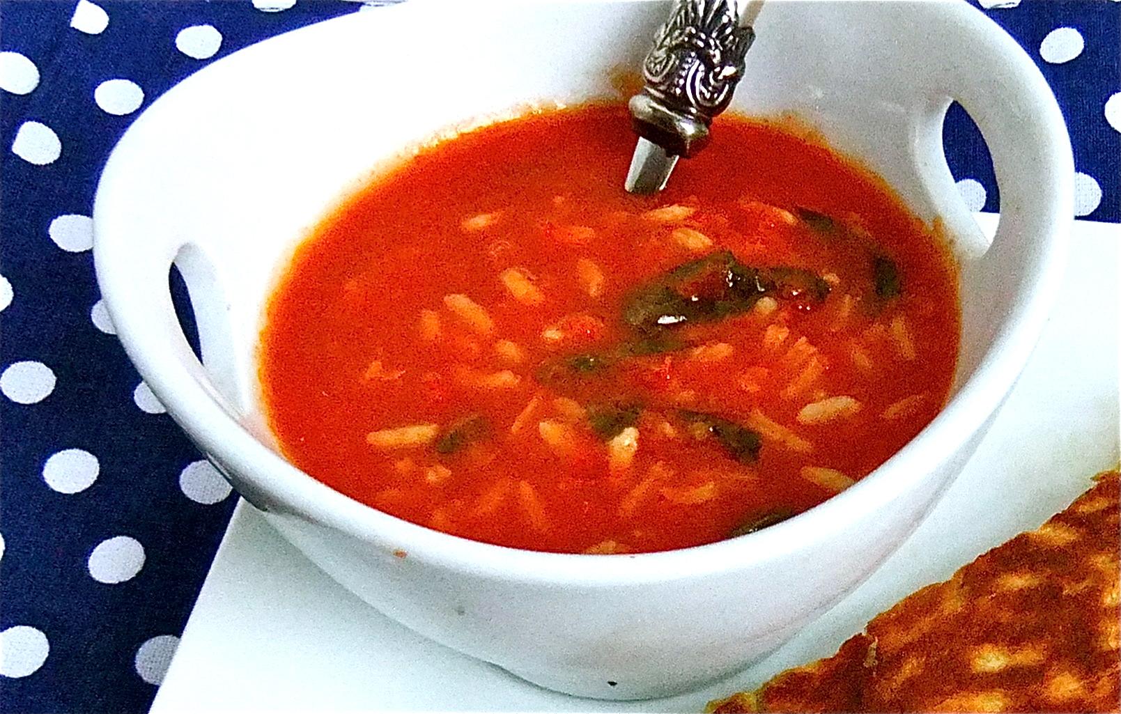 Probajte hladnu supu od paradajza s rižom