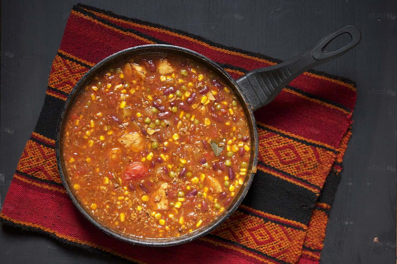 Chilli con carne sa tjesteninom za svaki dan