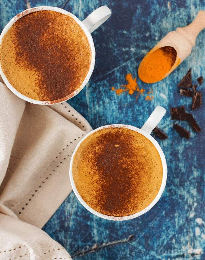 Zdravi napici kakao i kukurkuma