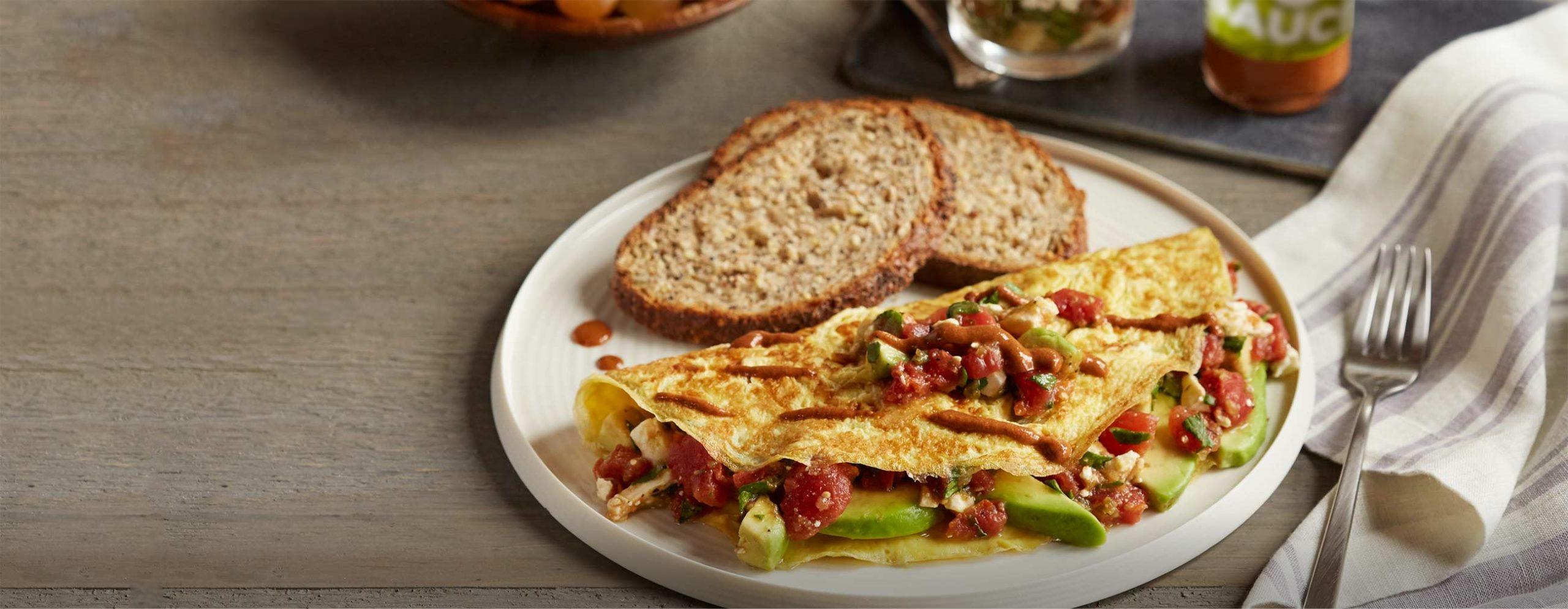 Kalifornijski omlet za dobro jutro