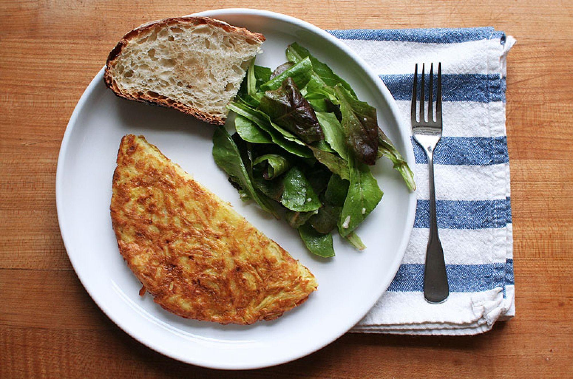 Jaja s krompirom za doručak