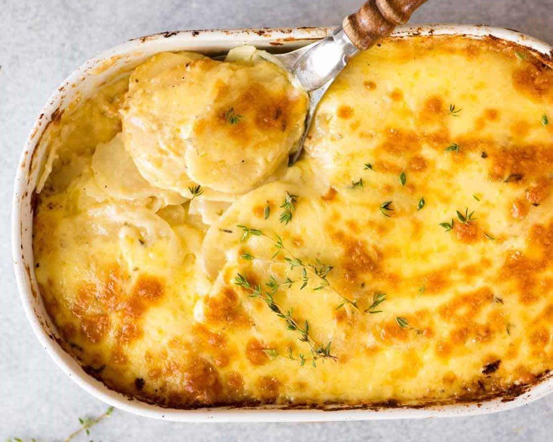 Ukusno: Pečeni krompir s vrhnjem