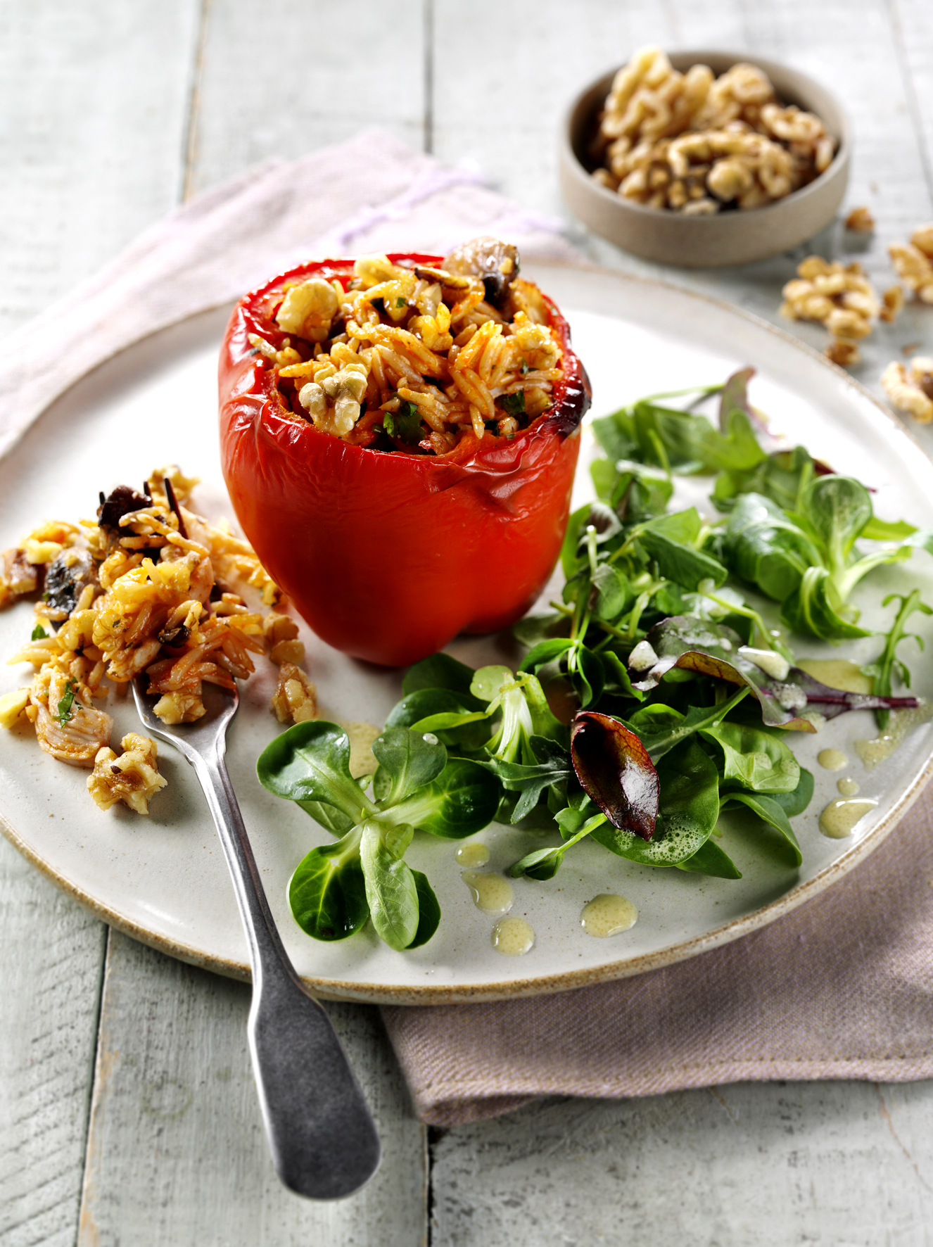 Paprike s orasima idealno jelo