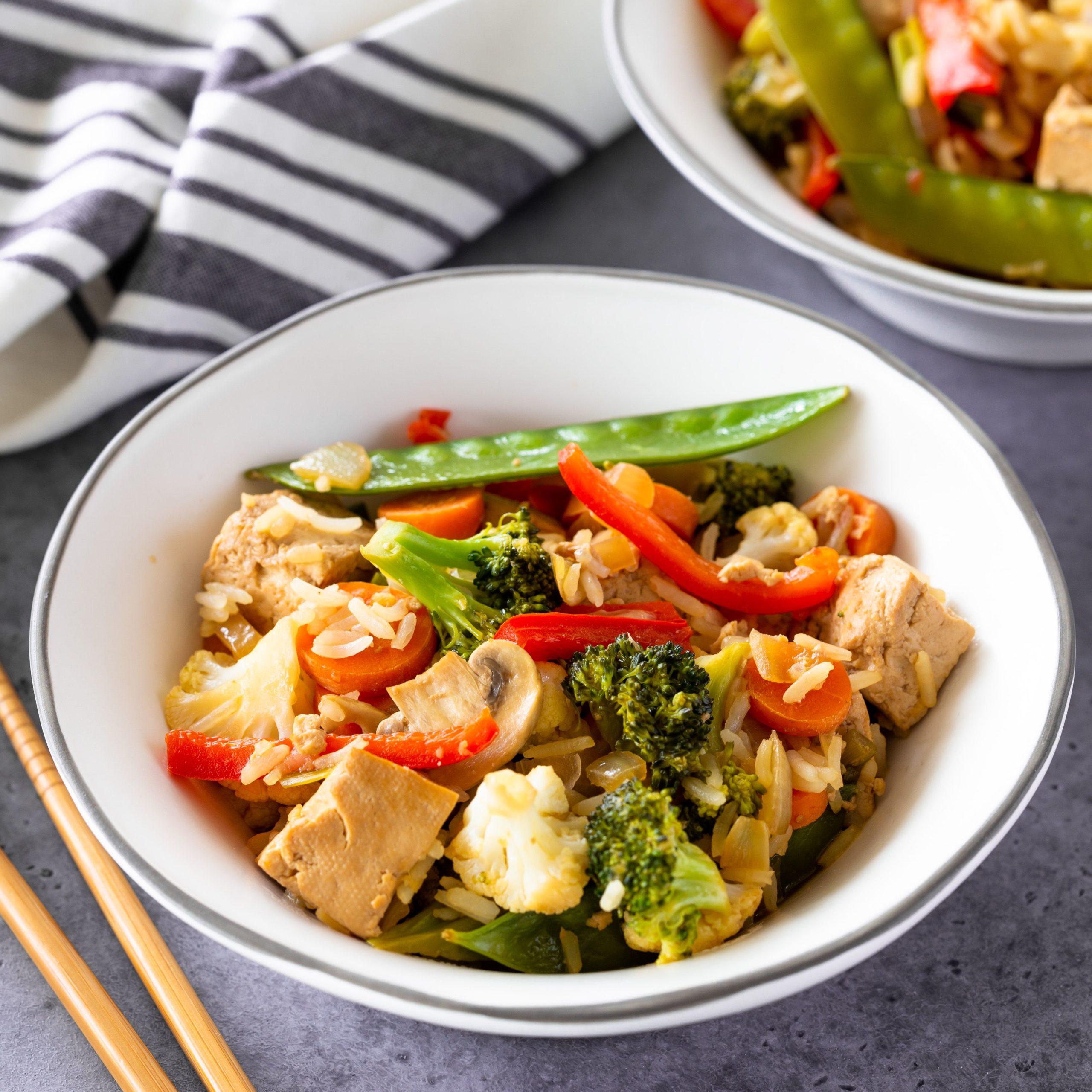 Ukusno: Tofu sa povrćem
