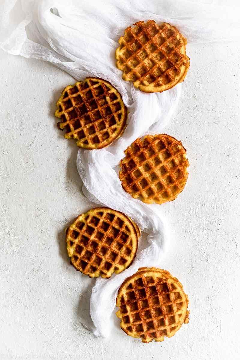 Napravite proteinske waffle s jogurtom