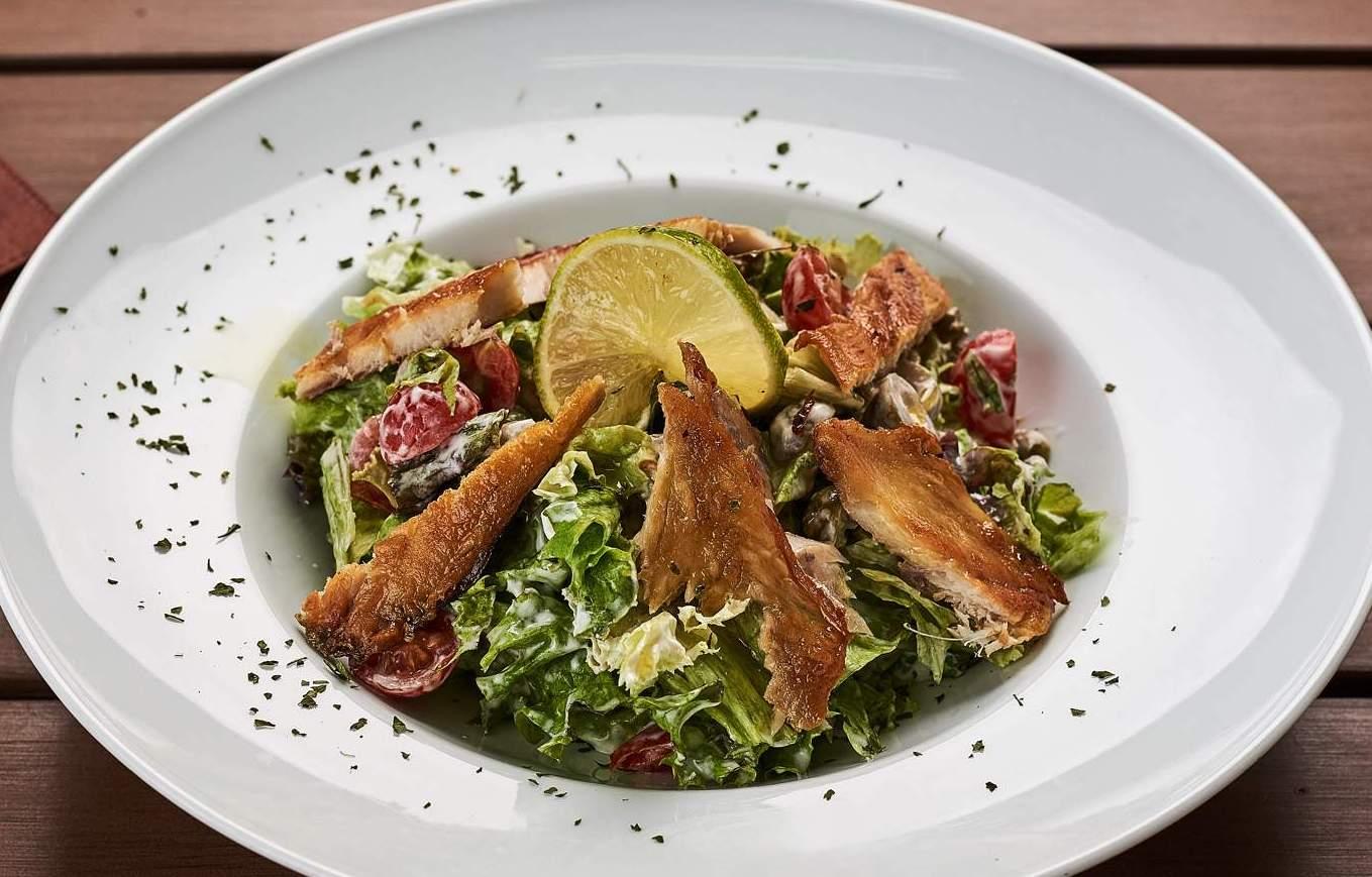 Okusi mora: Salata s pastrmkom i narom