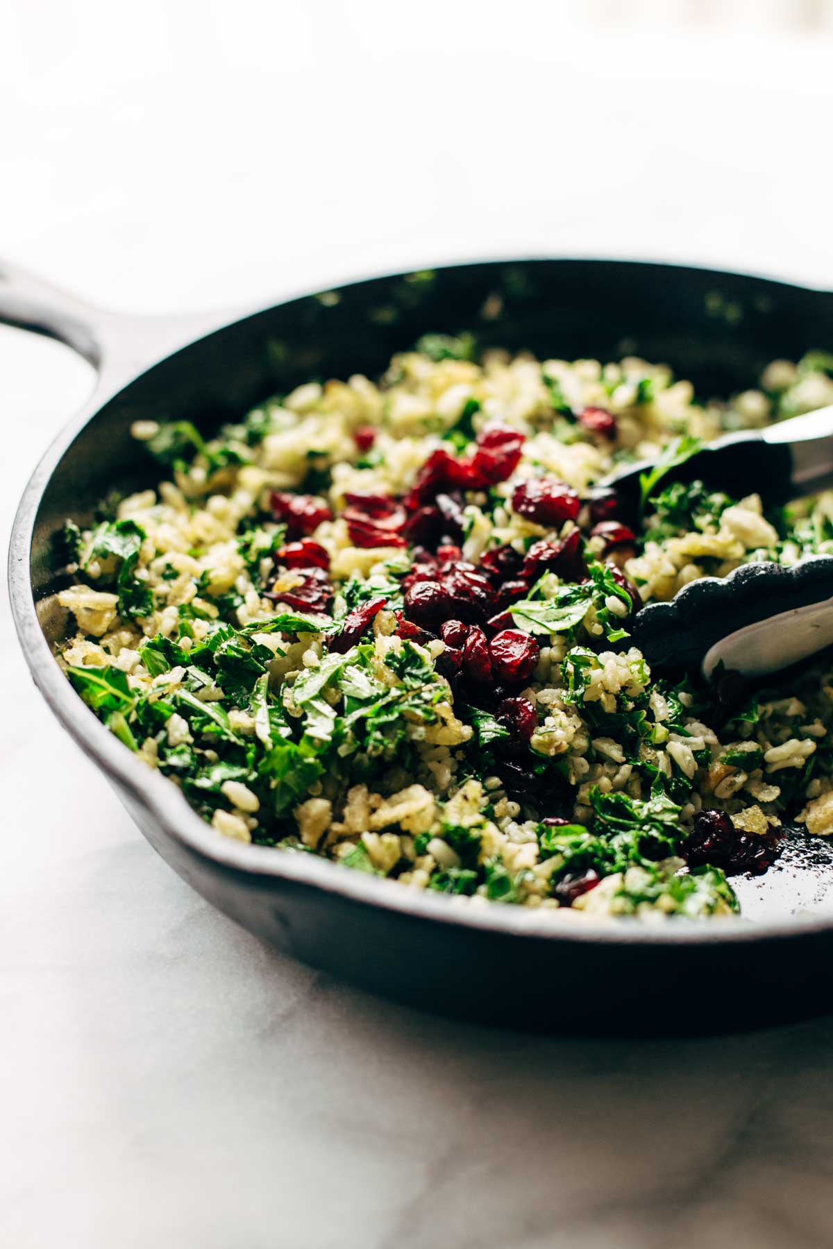 Kelj s rižom za ručak