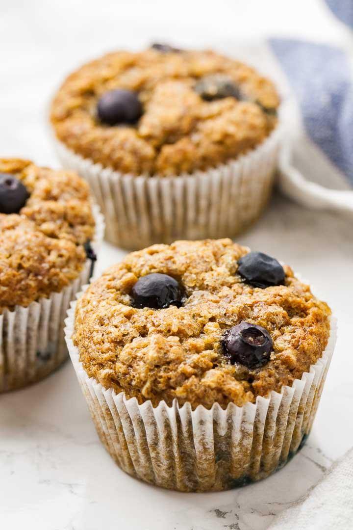 Muffini od banana i borovnica